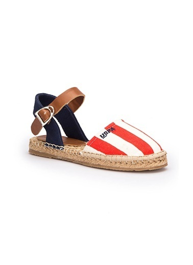 U.S. Polo Assn. Sandalet Kırmızı